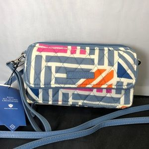 NWT Vera Bradley RFID All in One Crossbody